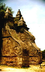 Paoay buttress (imogen_ph) Tags: travel church scans philippines unescoworldheritagesite nondigital paoay ilocosnorte analogslr