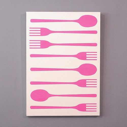 March of spoon and fork