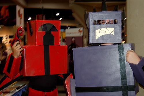 Comic Con 2007: Robots