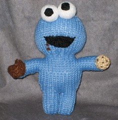 Amigurumi Cookie Monster Pattern : theknittycats tips & techniques: Patterns and Tutorials