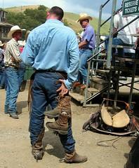 dave 03 (Rescue Furdaddy) Tags: spurs cowboy rear wranglers rump rodeo hunky spurmarks wranglerbutt