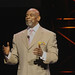 "Chris Gardner, the inspiration for the film ""The Pursuit of Happyness"" with Will Smith"