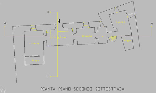 Floor Plans for La Terrazza Apartment