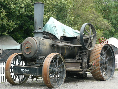 Trevithick Locomotive