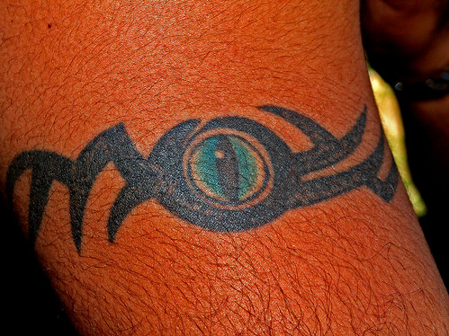 How to Draw a Tribal Egyptian Eye Tattoo enlarge