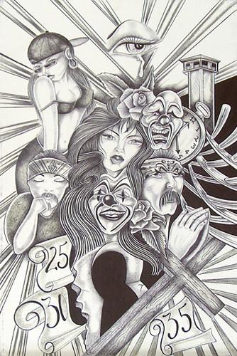 mexican prison art. prison art