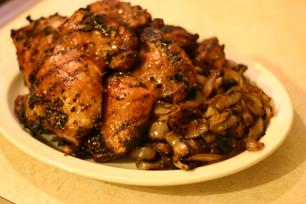 Korean Barbecued Chicken