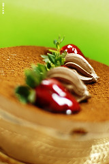 bolo (GraceOda) Tags: aniversario cake strawberry chocolate bolo 27 morango niver equeeusejafelizpracaraleopqeumereço