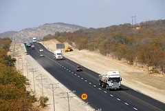 TRUCKING IN SOUTH AFRICA (Claude  BARUTEL) Tags: africa road truck south transport scania