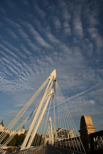 Pedestrian Bridge over the Thames