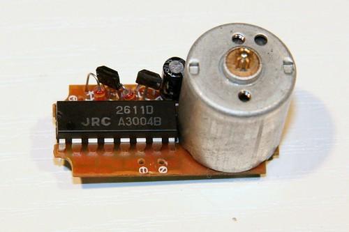 Servo Elektronik ohne Verkabelung