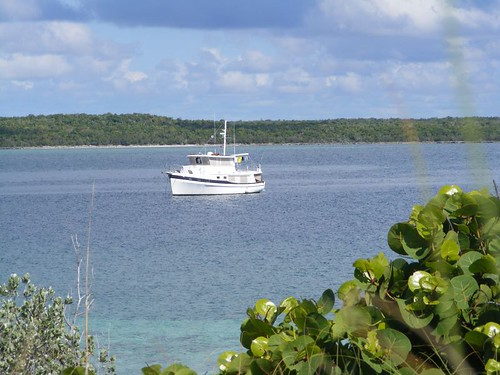 Our Lynyard Cay Anchorage