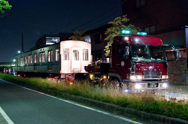 東京メトロ東西線05系05-102F 05-802陸送