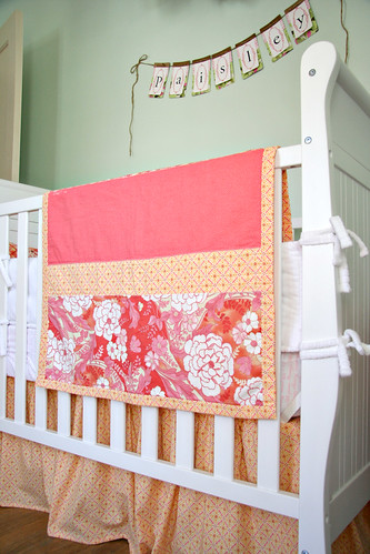 Sweet P's Nursery - Crib Blanket