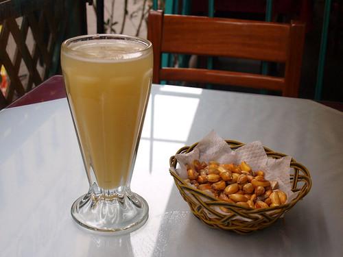 Perú: refresco y maiz
