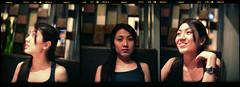 Miss red face (DoveVadar) Tags: 120 film zeiss special carl mf pentacon f28 2a 120mm siz reala100 biometar praktisix
