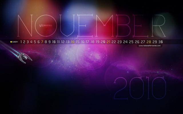 2010년 11월 배경화면