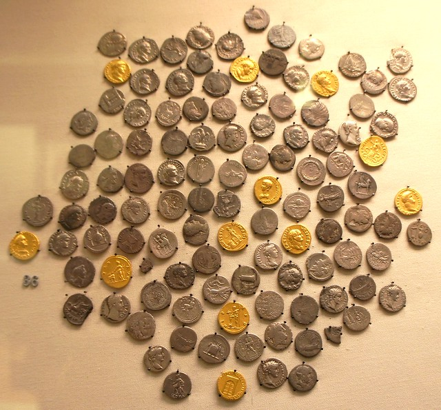 Howe Norfolk hoard, a great many Republican denarii amongst Imperial gold and silver dating to Vespasian