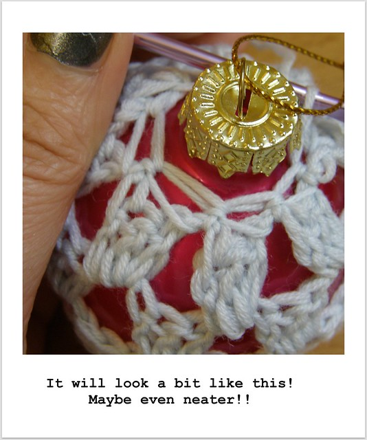image 16 : Crocheted Baubles