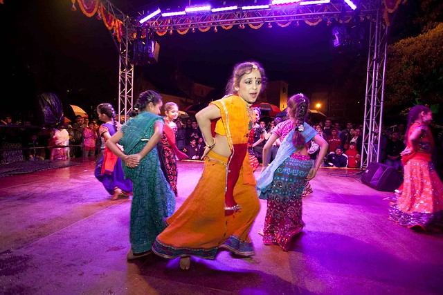 Ruchi Sanghi Dancers perform at Masala Nights