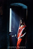Girl in Red Saree (Shabbir Ferdous) Tags: blue red portrait people window colors girl female colours photographer shot smoke culture teen rays dhaka saree sari bangladesh oldpalace bangladeshi canonef70200mm28lisusm shabbirferdous canoneos1dmarkiv indianshari wwwshabbirferdouscom shabbirferdouscom