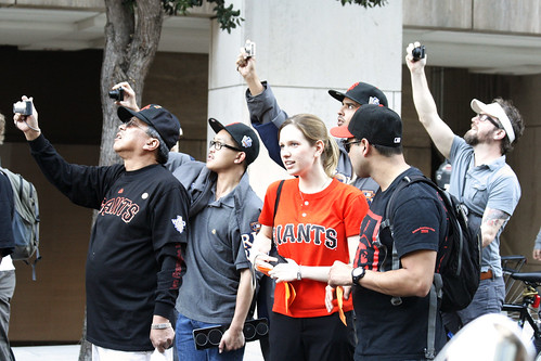 SF Giants Victory Parade: Fans