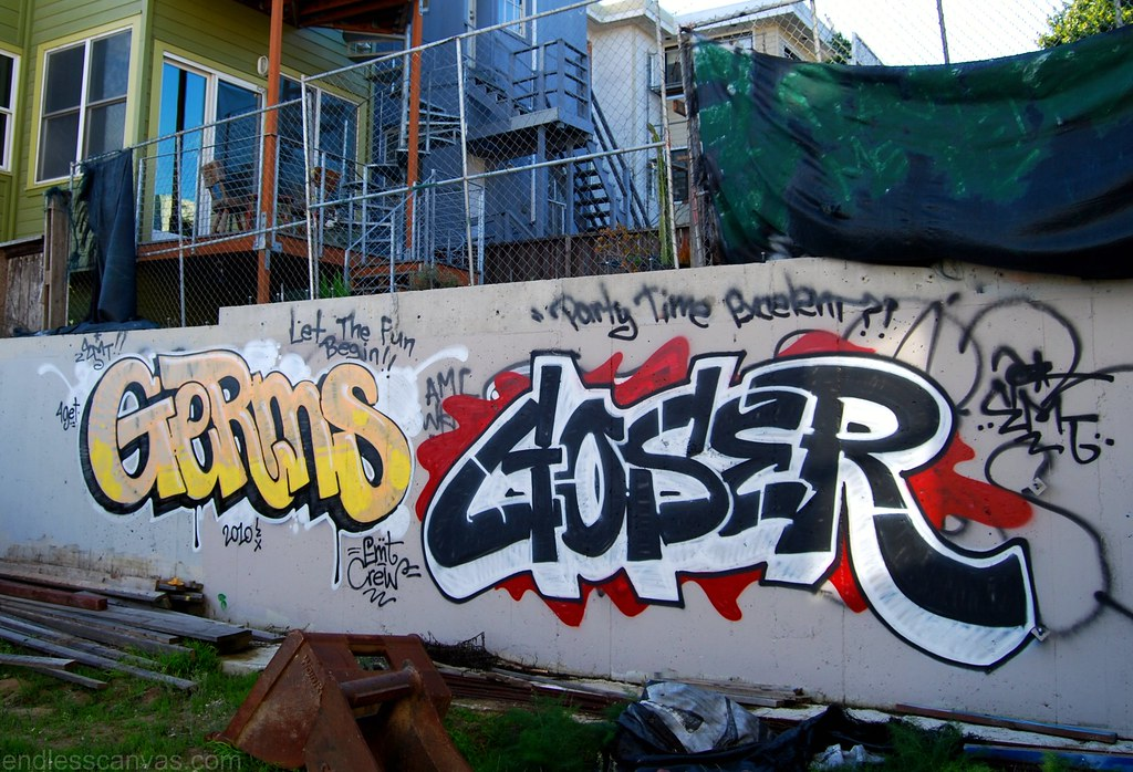 Germs Goser Graffiti San Francisco.