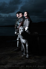 . (Ashley Daws) Tags: irish zeiss 50mm wolf f14 hound battle knights carl warriors dagger swords armour strobist