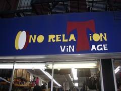 No Relation Vintage