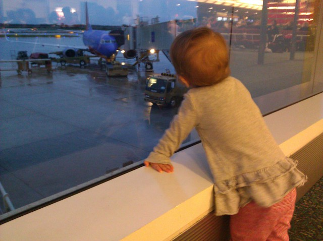Airplane travel with baby (Part 3): At the airport