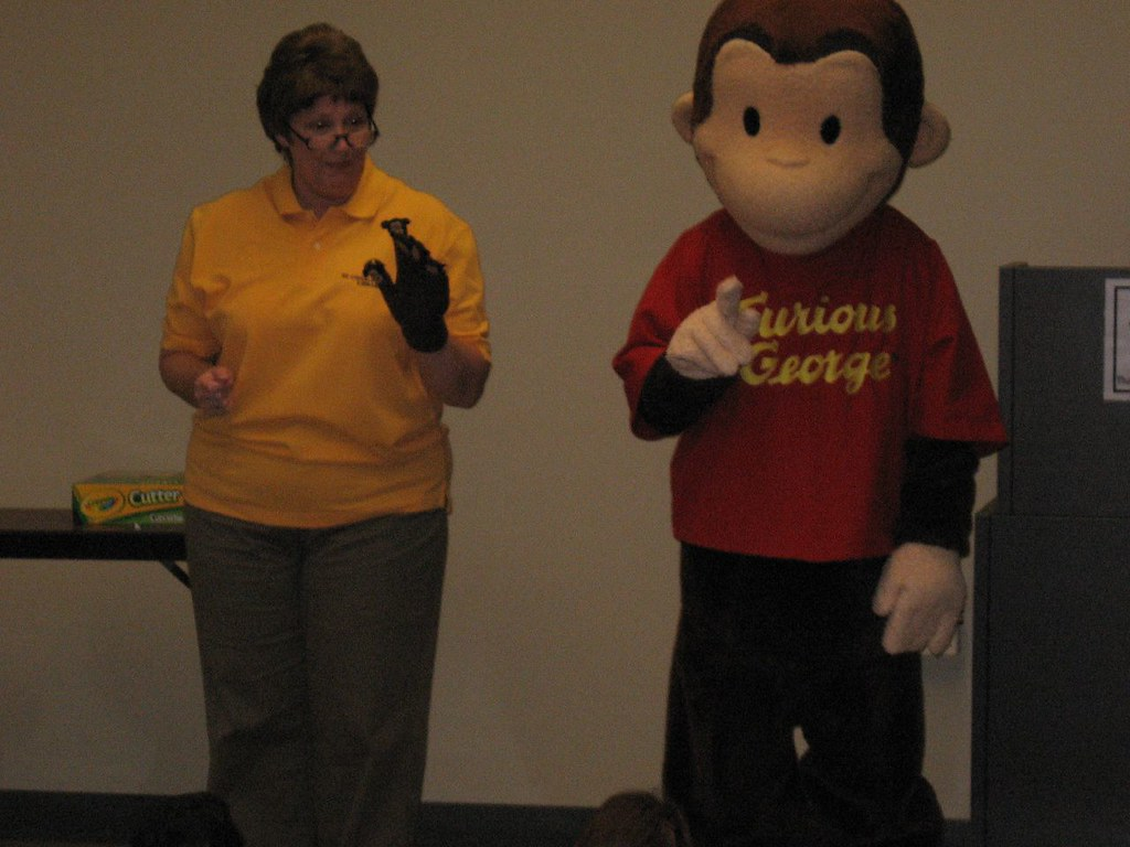 CURIOUS GEORGE AT ST. ROSE