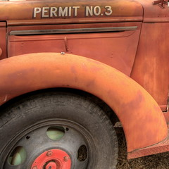 permit #3 (david haggard) Tags: wheel fireengine rte66 seligmanarizona colorphotoaward