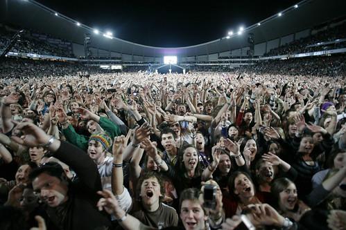 Live Earth Crowd