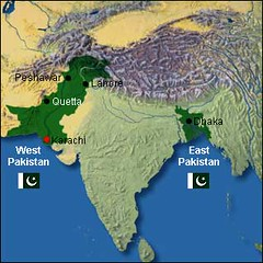 What Mr Jinnah actually got (Doc Kazi) Tags: pakistan india history map partition tuberculosis motheaten