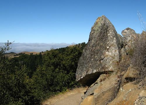 A few rocks
