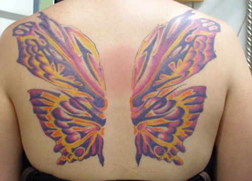 Butterfly Wings Tattoos