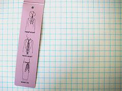 Lenço - instruções