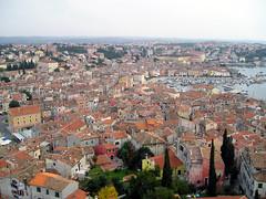 Rovigno (Rovinj) - View from the Bell Tower (alberto_d) Tags: tower church europa europe cathedral bell croatia venetian croazia rovigno rovinj croacia adriatic istria croatie