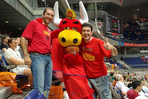 Un blogger en la fase final del Eurobasket: Día 1