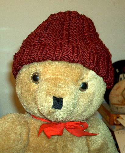 Afghans for Afghans Hat - on Bear