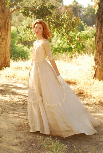 Vintage Butterfly Wedding Dress