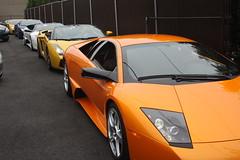 IMG_0959 (Lamborghini obsessed) Tags: paul lamborghini harrington murcielago gallardospyder 5604 lp640 valentinobalboni lp640roadster gallardocoupe dreamcarlegendstour