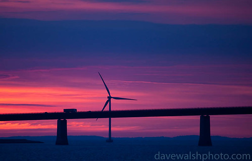 Windmill at Oresund Bridge