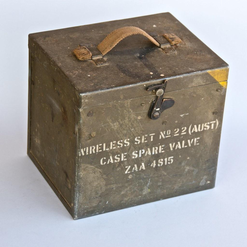 Valve Case for Wireless Set Nº 22 (ZAA 4815) nº 1
