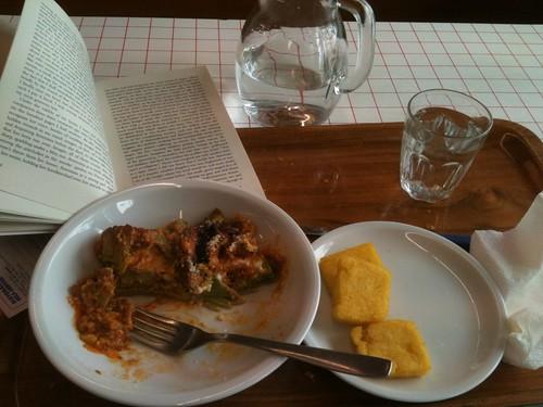 My lunch, at Self-Service Ristorante Leonardo