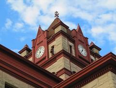 Cass County Clock Tower (Eridony) Tags: clock downtown village michigan historic clocktower courthouse michiana countycourthouse countyseat cassopolis casscounty constructed1899