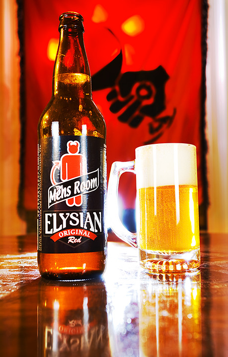 Elysian The Mens Room Red