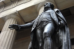 NYC - Financial District - Federal Hall - Washington Statue (wallyg) Tags: nyc newyorkcity sculpture ny newyork statue washington memorial downtown nps manhattan president landmark financialdistrict gothamist revolutionarywar wallstreet patriot americanrevolution nationalparkservice georgewashington neoclassicism foundingfathers inauguration 1776 neoclassical federalhall johnquincyadams greekrevival customhouse foundingfather nationalmemorial nationalregisterofhistoricplaces fidi neoclassicalarchitecture nrhp federalhallnationalmemorial revolutionarywarhero americanrenaissance subtreasurybuilding usnationalregisterofhistoricplaces nmem newyorkcitylandmarkspreservationcommission nyclpc uscustombuilding usnationalmemorials