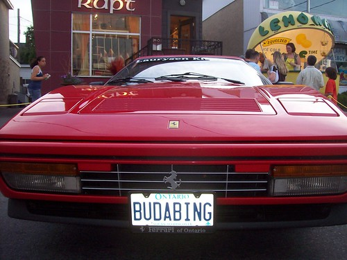 The face of a Ferrari 328 GTS... BUDABING!