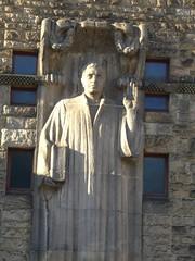 Lutherstatue an der Lutherkirche I